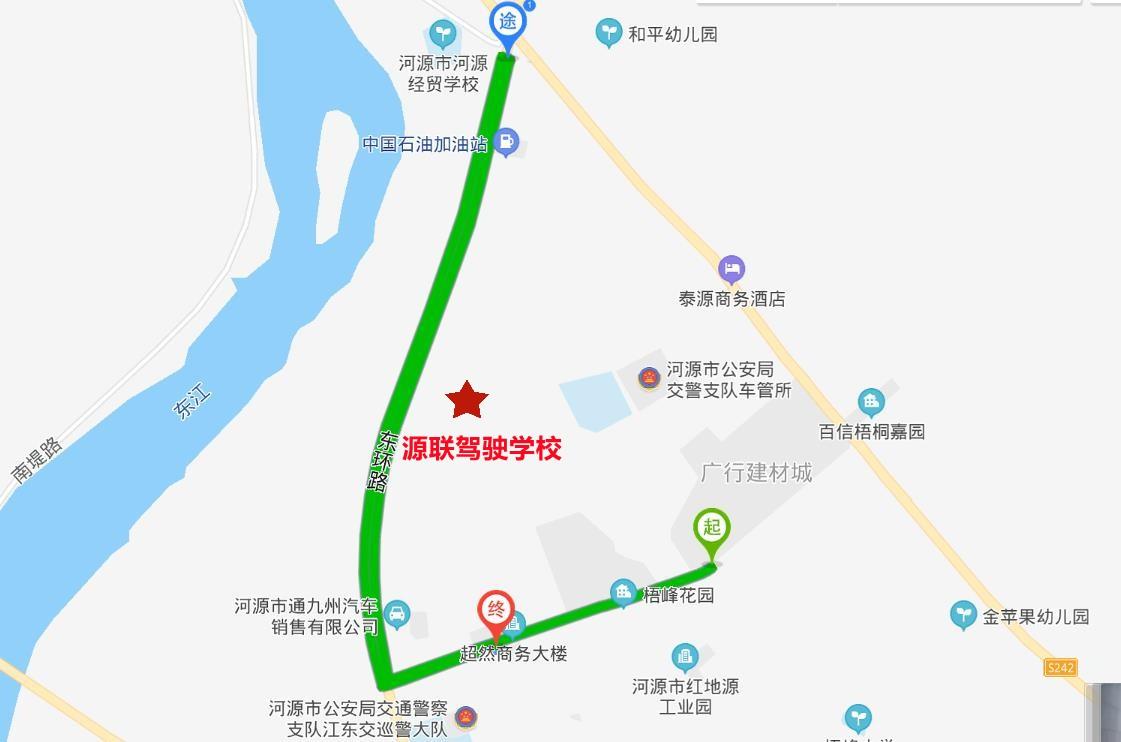 货车路线图
